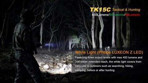 Lovecká baterka Fenix TK 15C