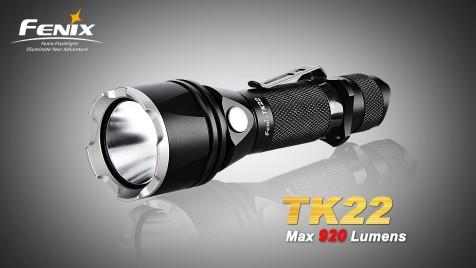 Taktické LED svietidlo Fenix TK22 XM-L2 (920 lumenov)