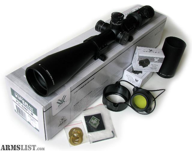Vortex Viper PST 6-24x50 FFP EBR-1 MRAD+montáž